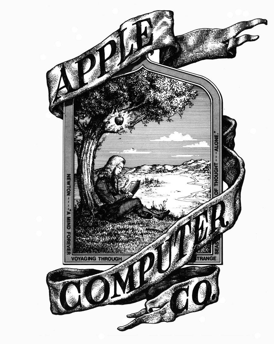 Allereerste Apple logo