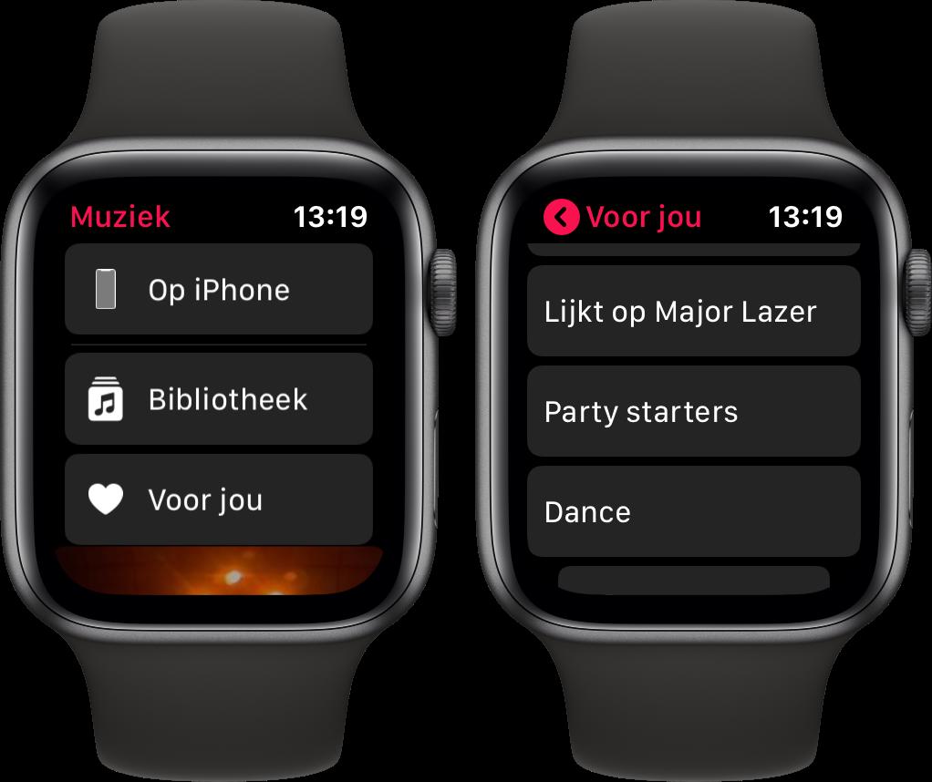Apple Watch watchos 6 muziek voor jou