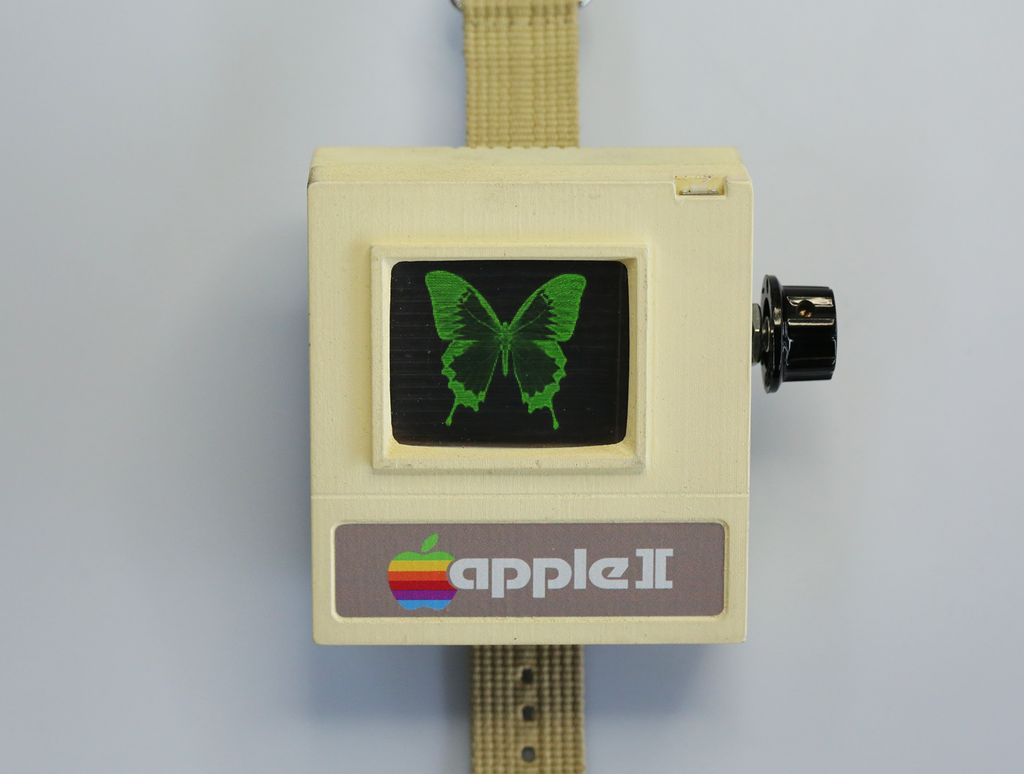 Zelf maken: De Apple ][ Watch