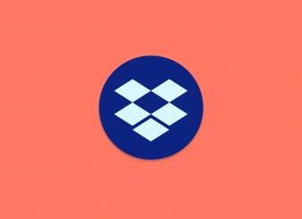 Dropbox icoon rood 16x9