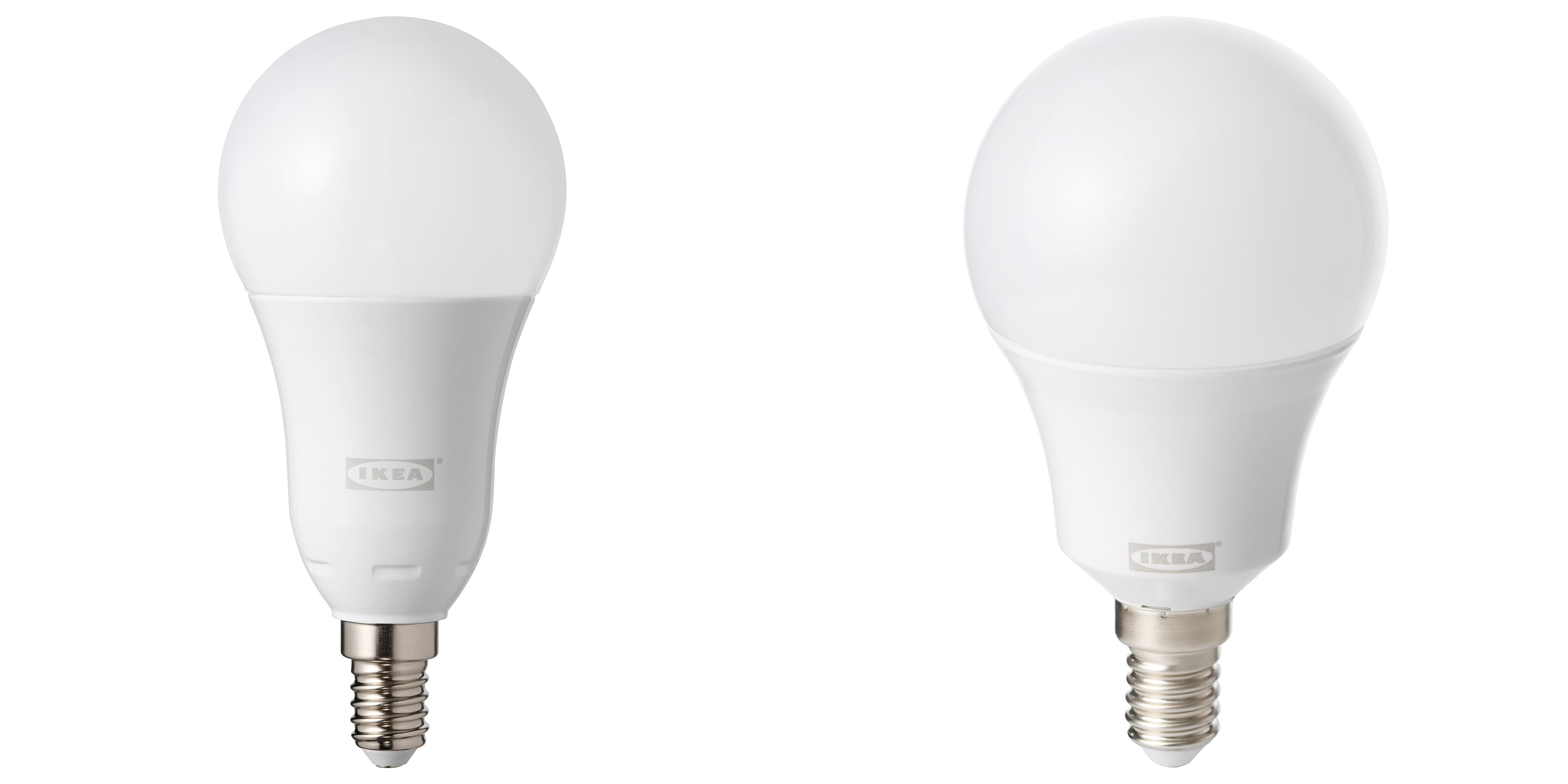 IKEA slimme lamp kleine fitting