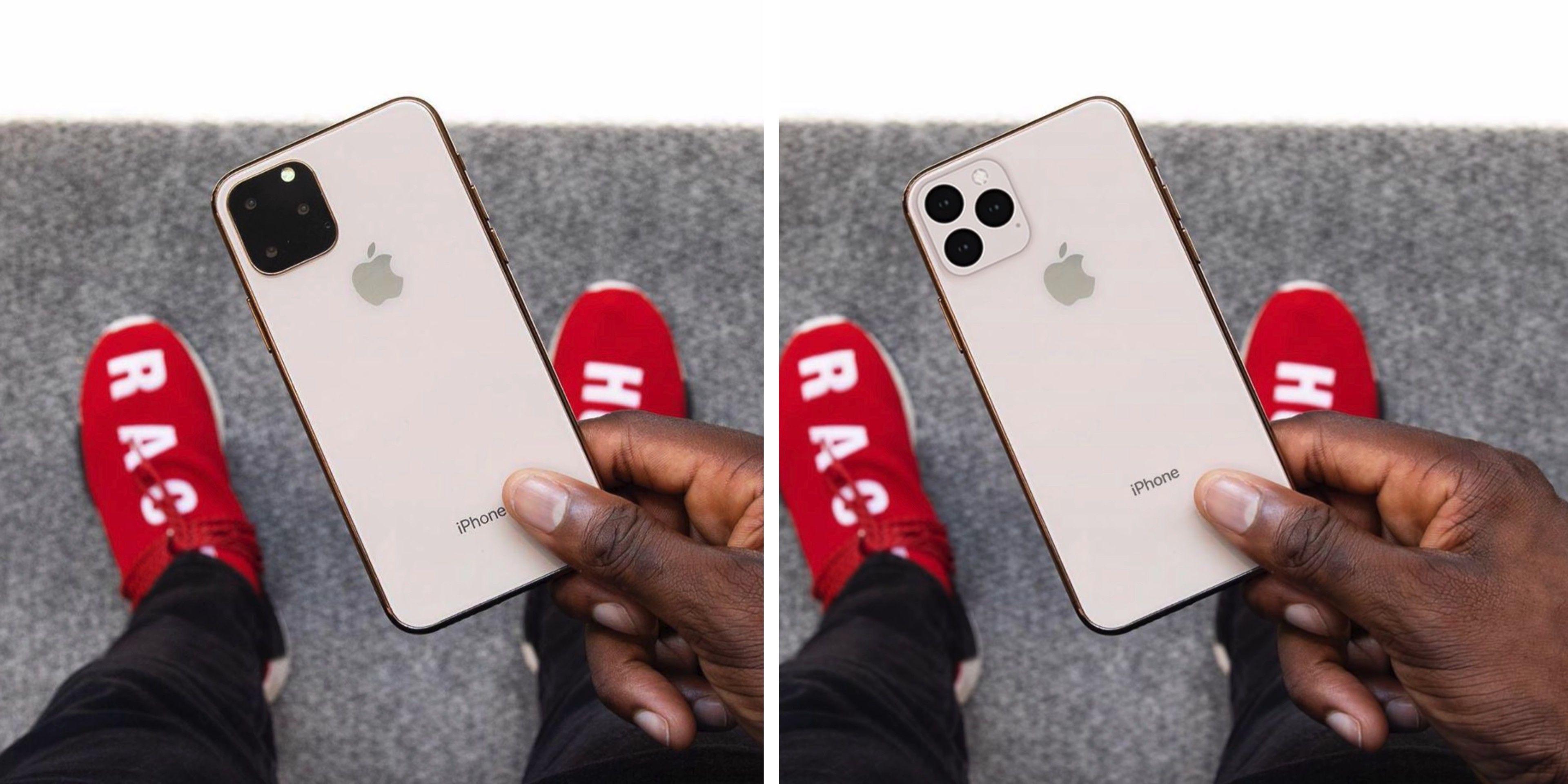 iPhone camera achterkant