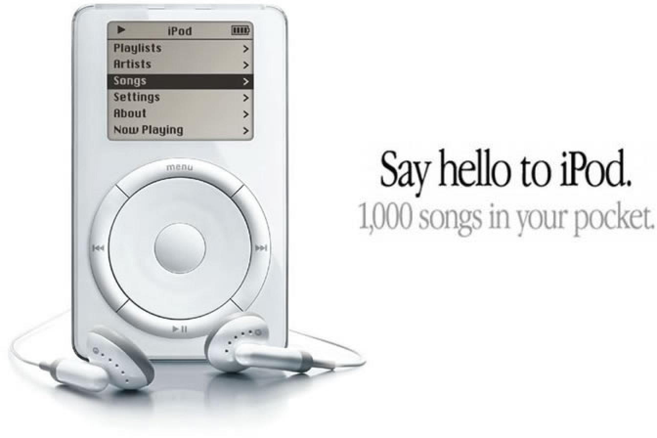iPod: 1000 songs in your pocket