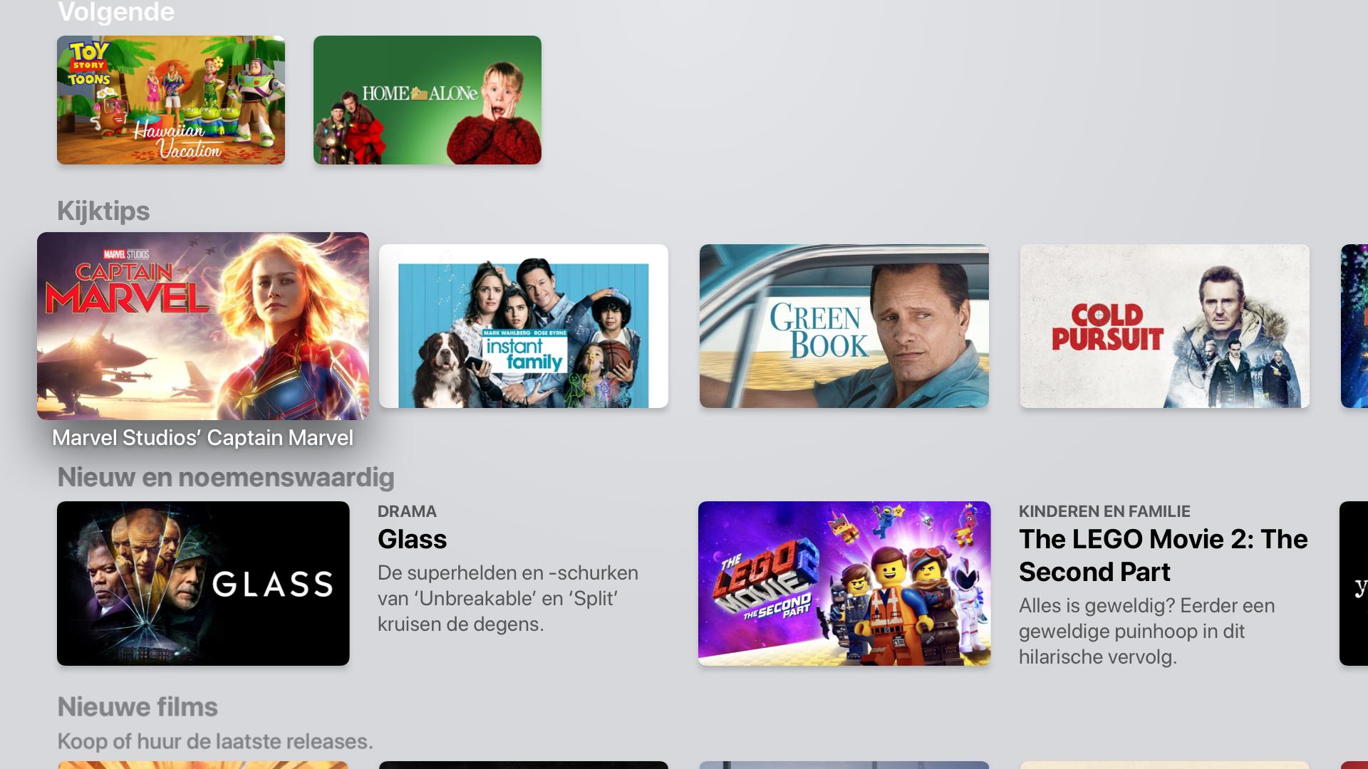 tvOS 13 Apple TV-app 002