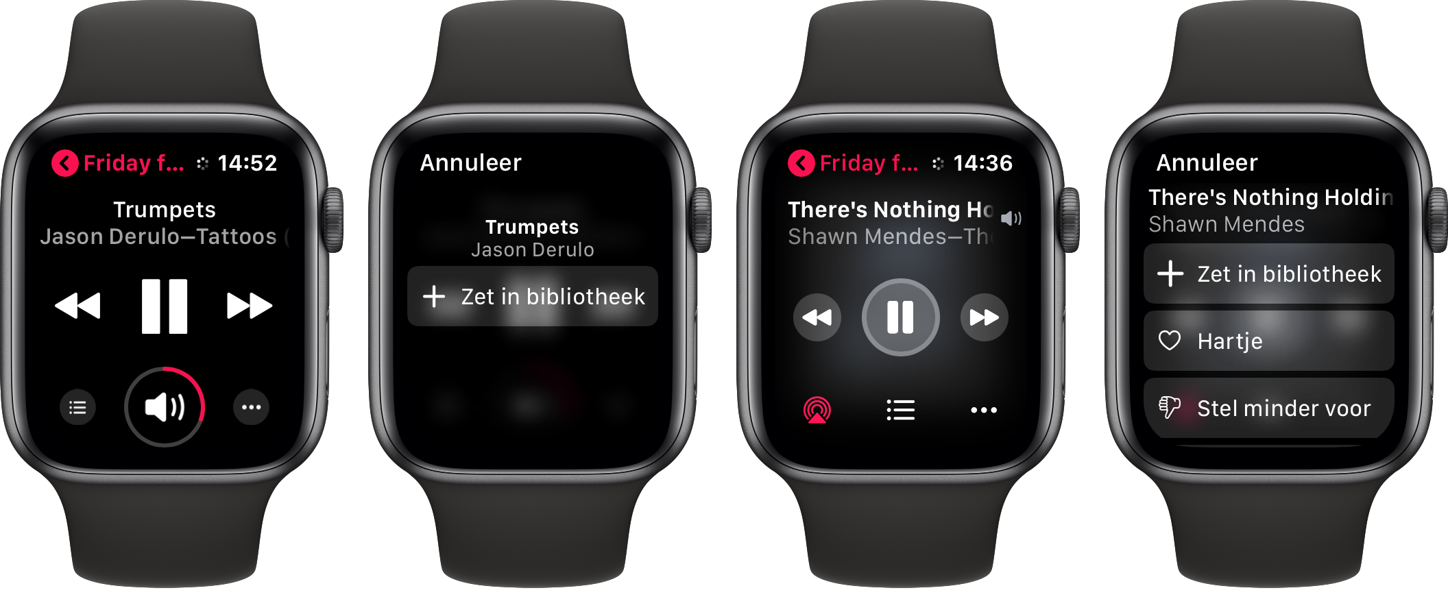 watchos 5 en 6 muziek app 001