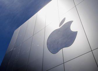 Apple-logo-op-gebouw
