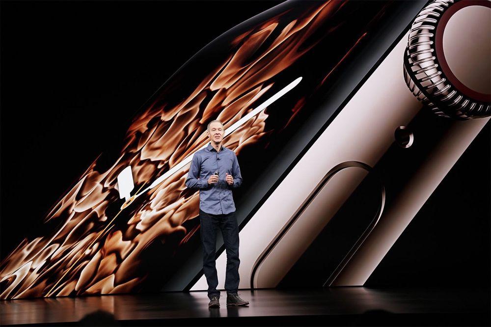 Jeff Williams - Apple Watch presentatie tijdens Keynote
