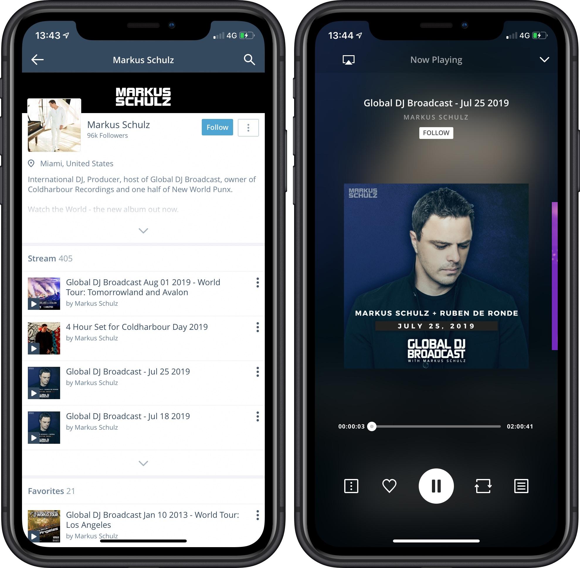 Mixcloud iOS 001