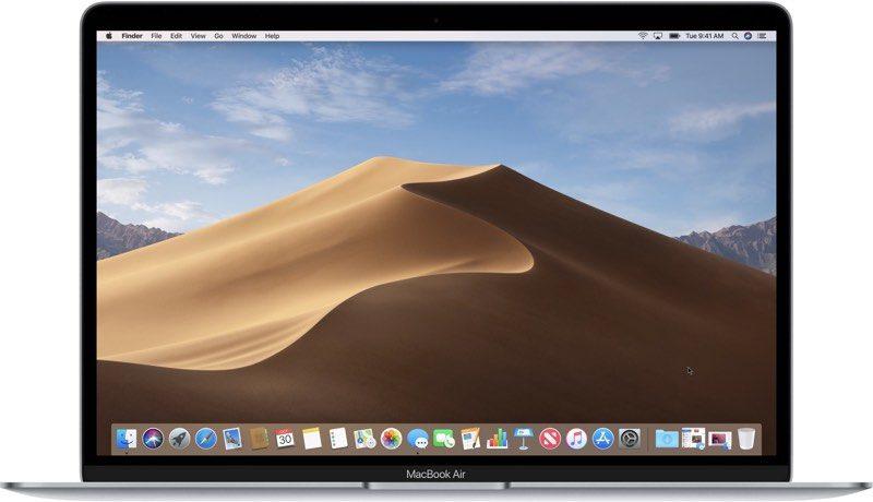 Mojave 10.14.6 aanvullende update