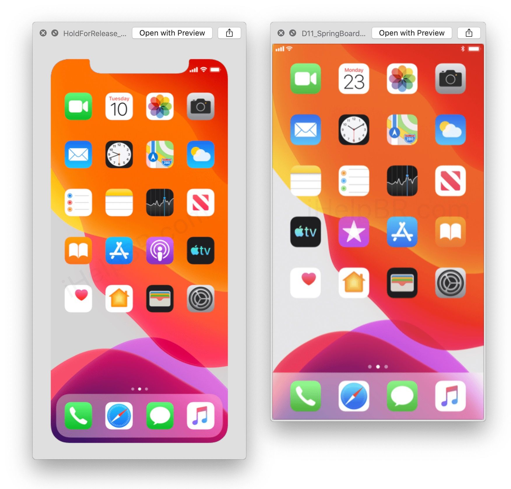iOS 13 iPhone 11