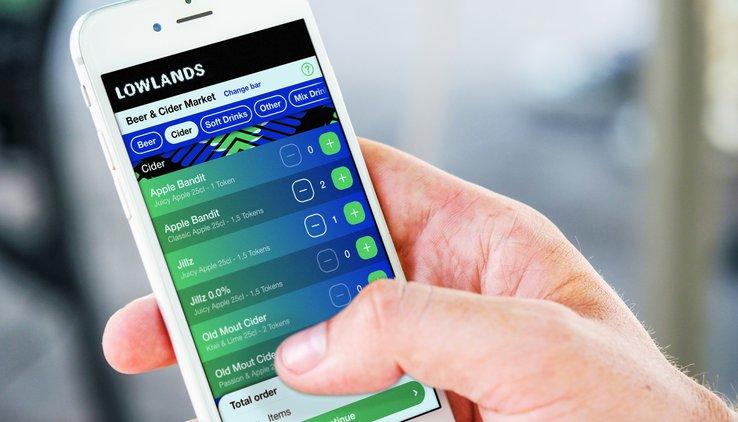 lowlands bestellen app