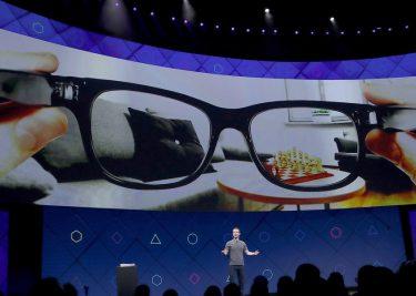 Facebook werkt dsamen met Ray Ban voor AR bril