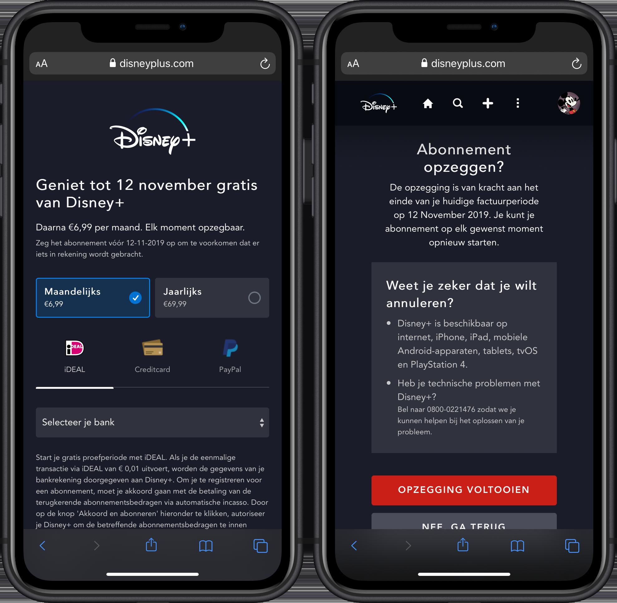 Disney+ gratis testen Nederland 001