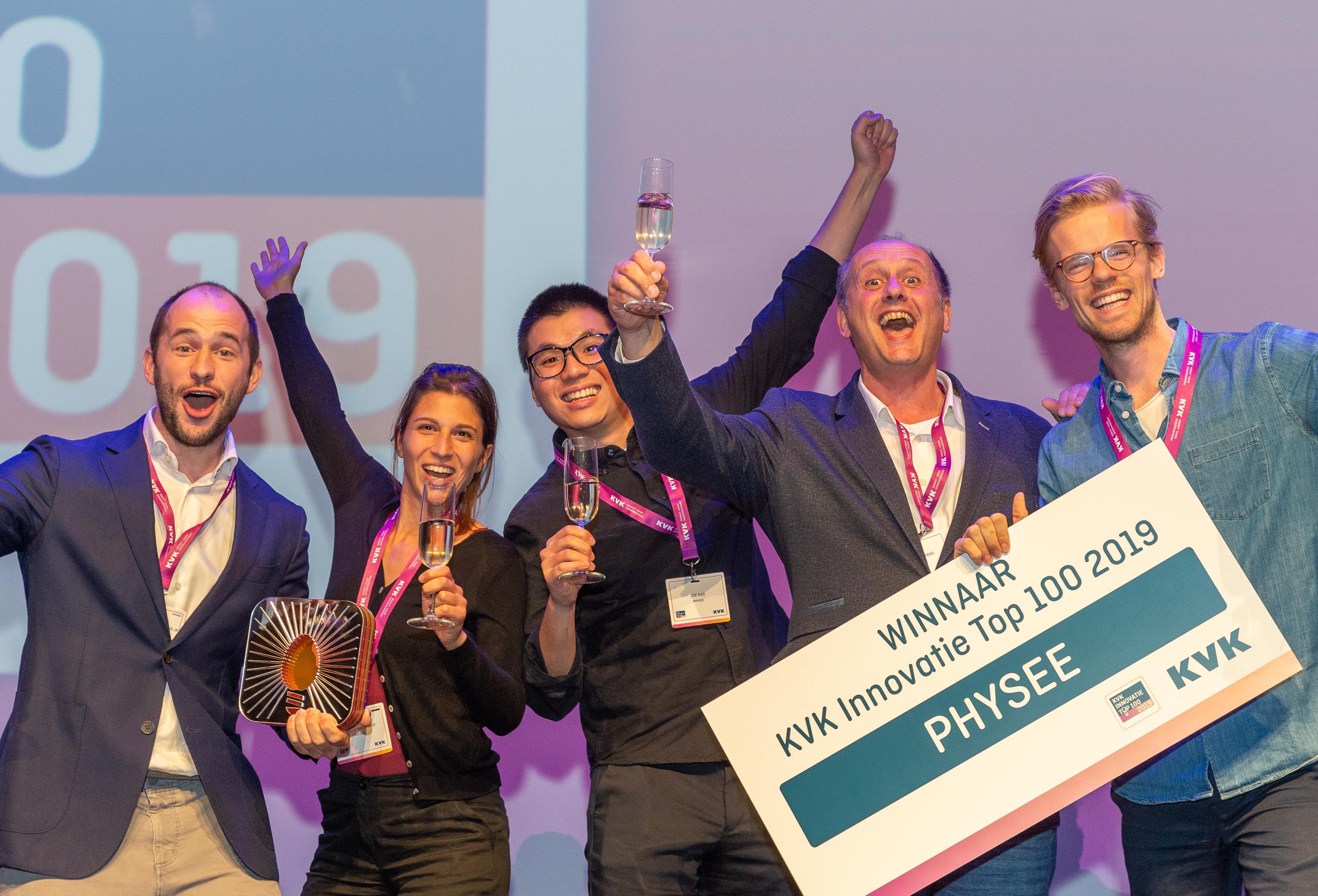 KVK innovatie top 100 PHYSEE