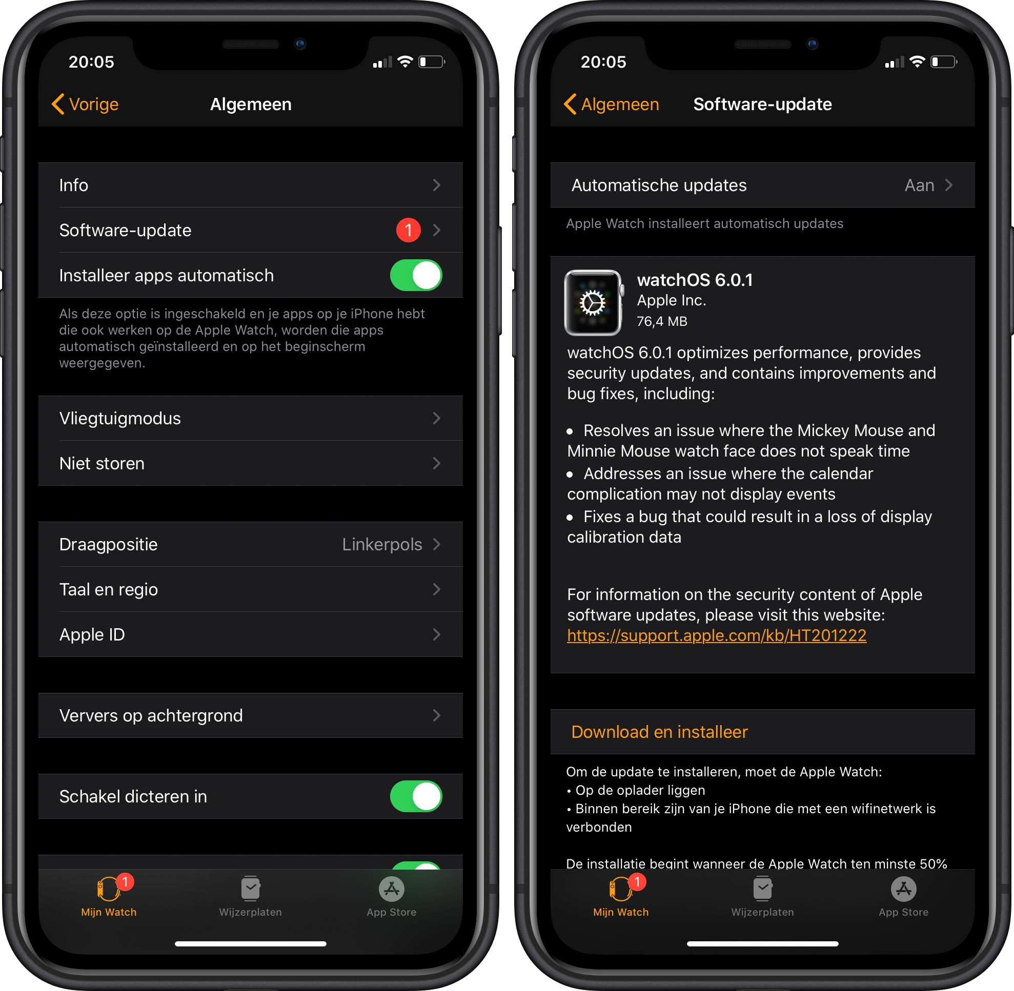 watchOS 6.0.1 Apple Watch 001