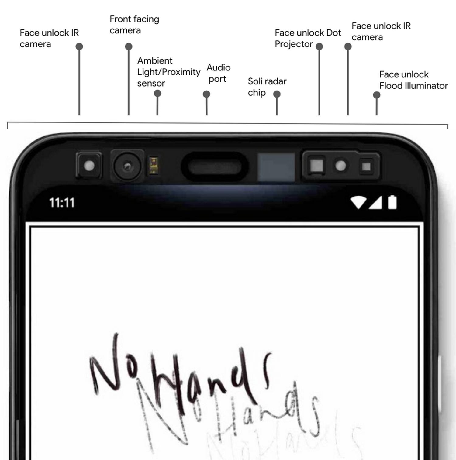 Google Pixel 4 No Hands