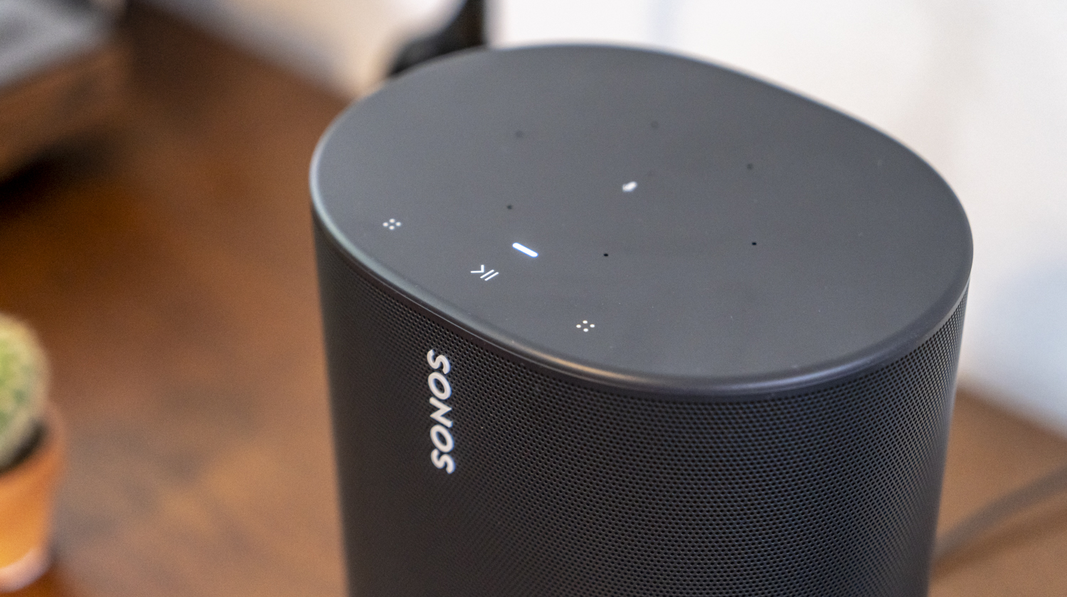 Sonos Move review knoppen