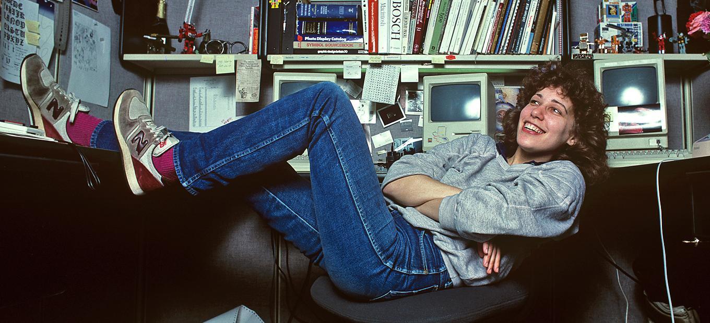 SusanKare bij Apple