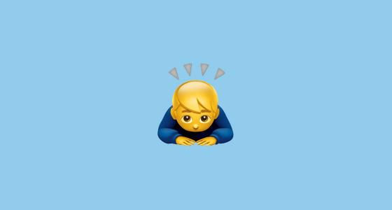 buiging emoji 001