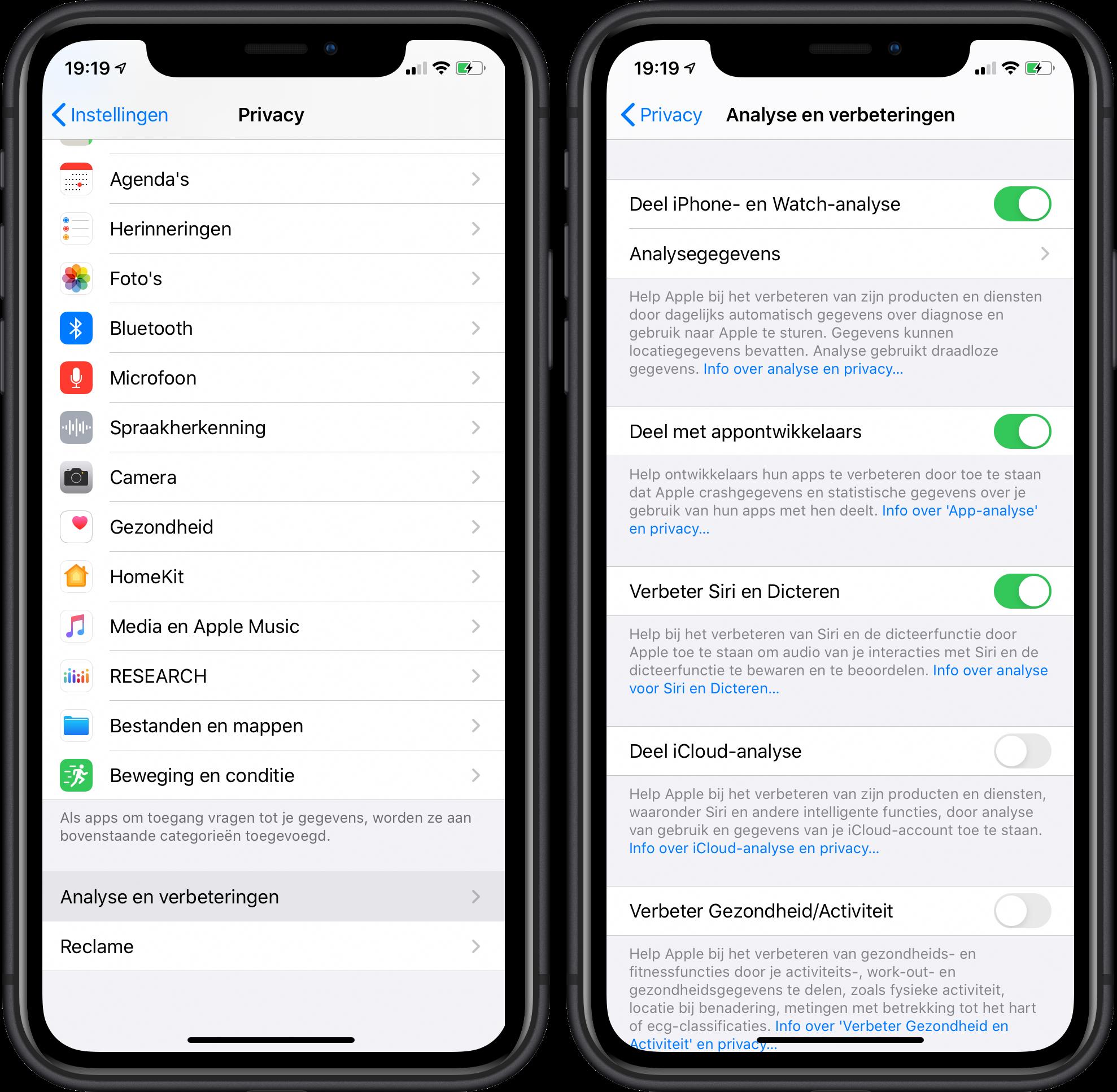 iOS 13.2 Siri geschiedenis 2