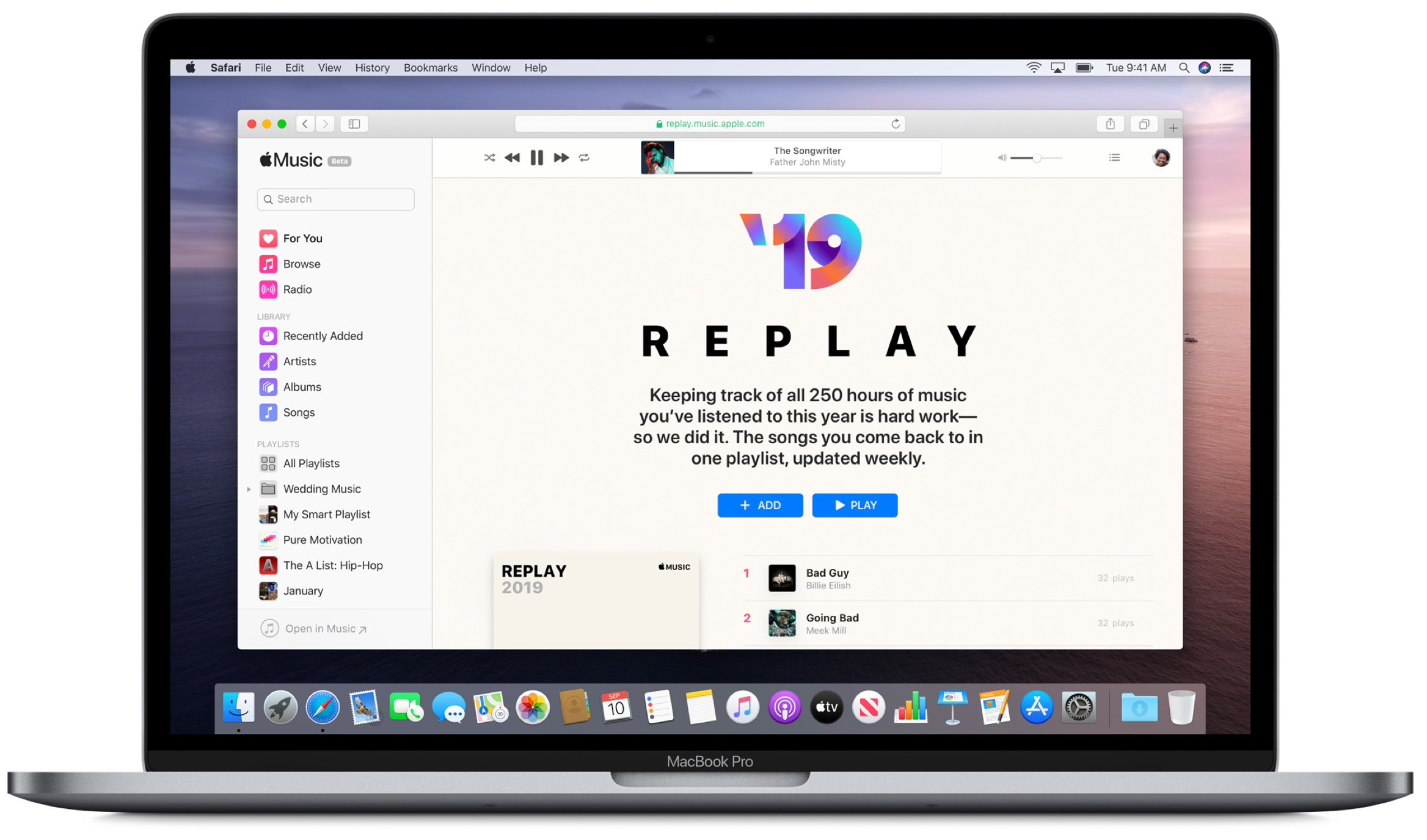 Apple Music replay 2019 Mac 001