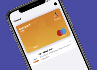 Rabobank Apple Pay Nederland 16x9