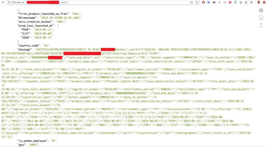 Gelekte gegevens Adobe Creative Cloud gebruikers