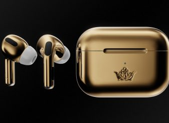 gouden AirPods Pro