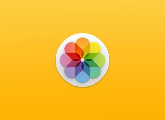 macOS Catalina foto's-app 16x9