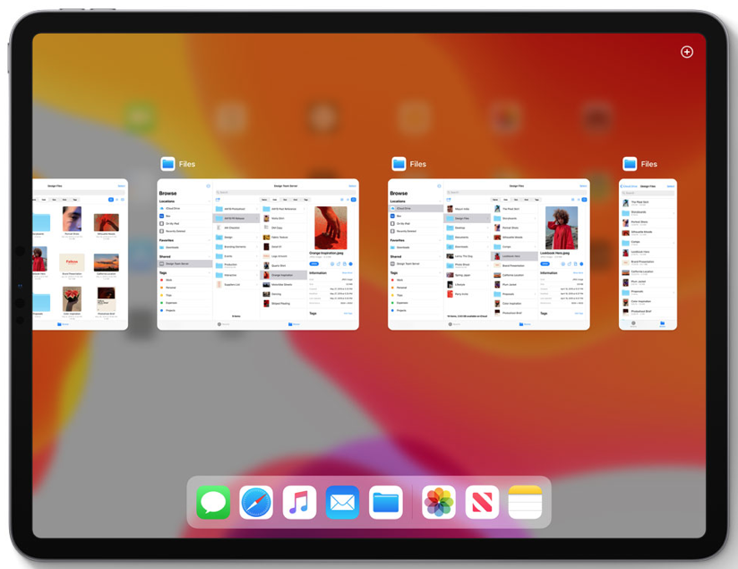 multitasking iOS 13.2 iPadOS 13.2 - 001