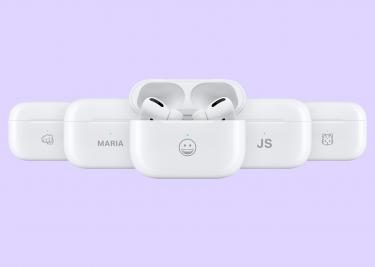 AirPods emoji 16x9