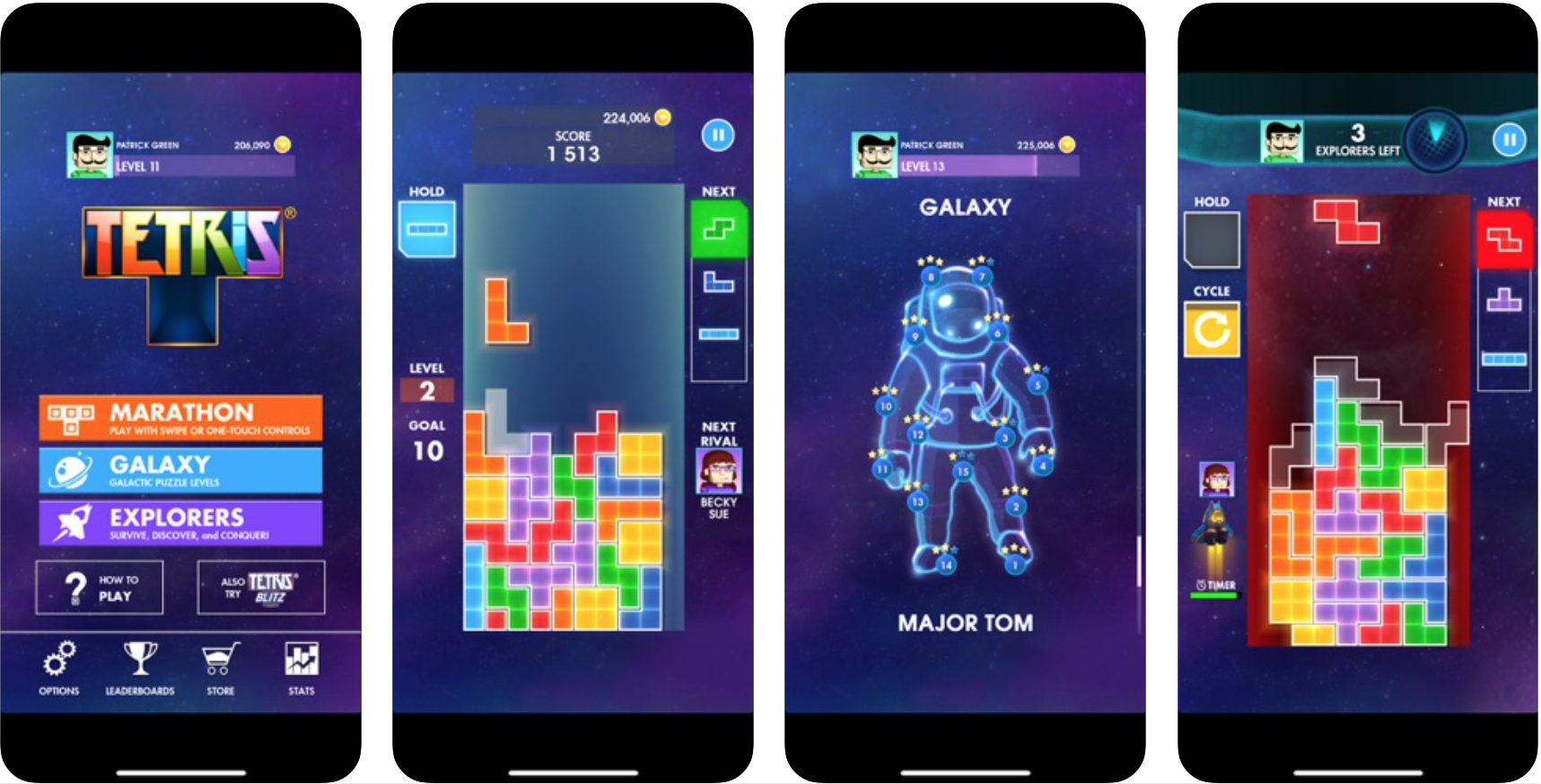 EA Tetris in de App Store