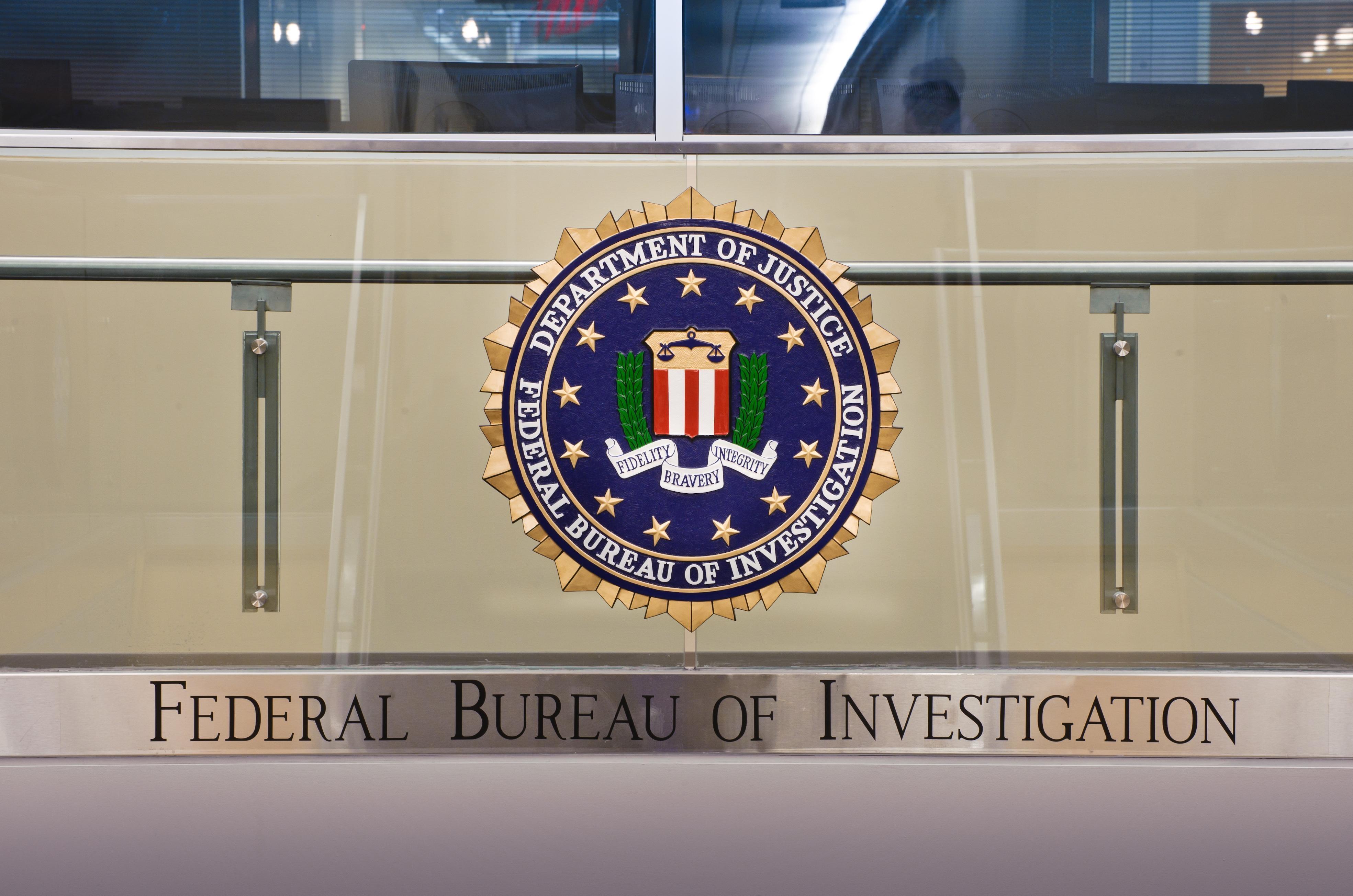 FBI logo in het SIOC