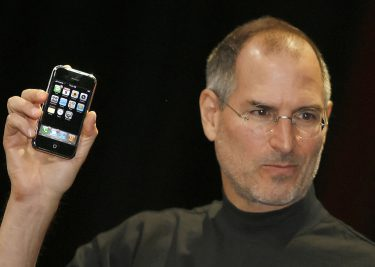 Steve Jobs met iPhone