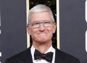 Tim Cook Golden Globe Awards Apple
