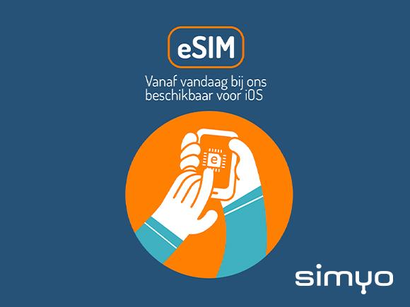 KPN Simyo eSIM Nederland