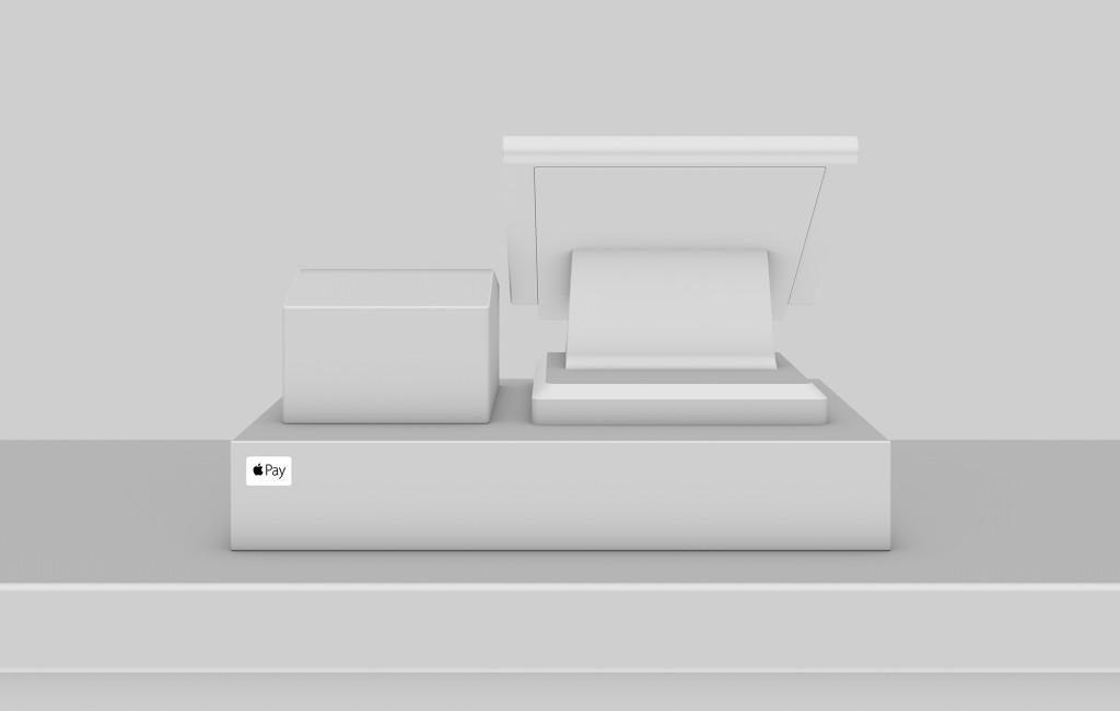 Apple Pay sticker op kassa