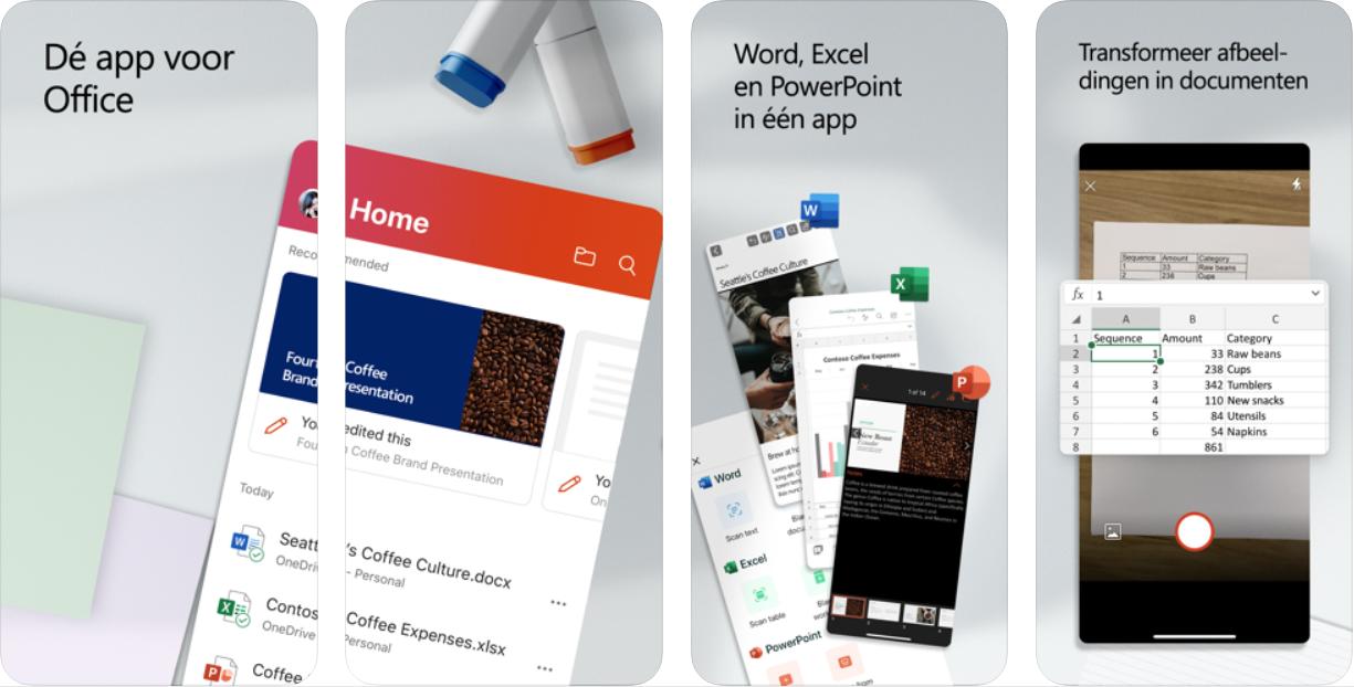 Microsoft Office voor iOS