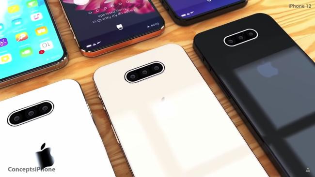 iPhone 12 concept (klik/tap voor groter).