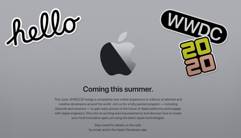WWDC 2020 fysiek afgeblazen