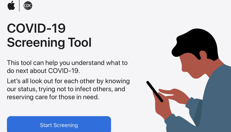 Apple app informatie COVID-19