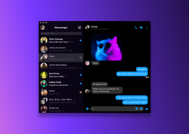 macOS Facebook Messenger