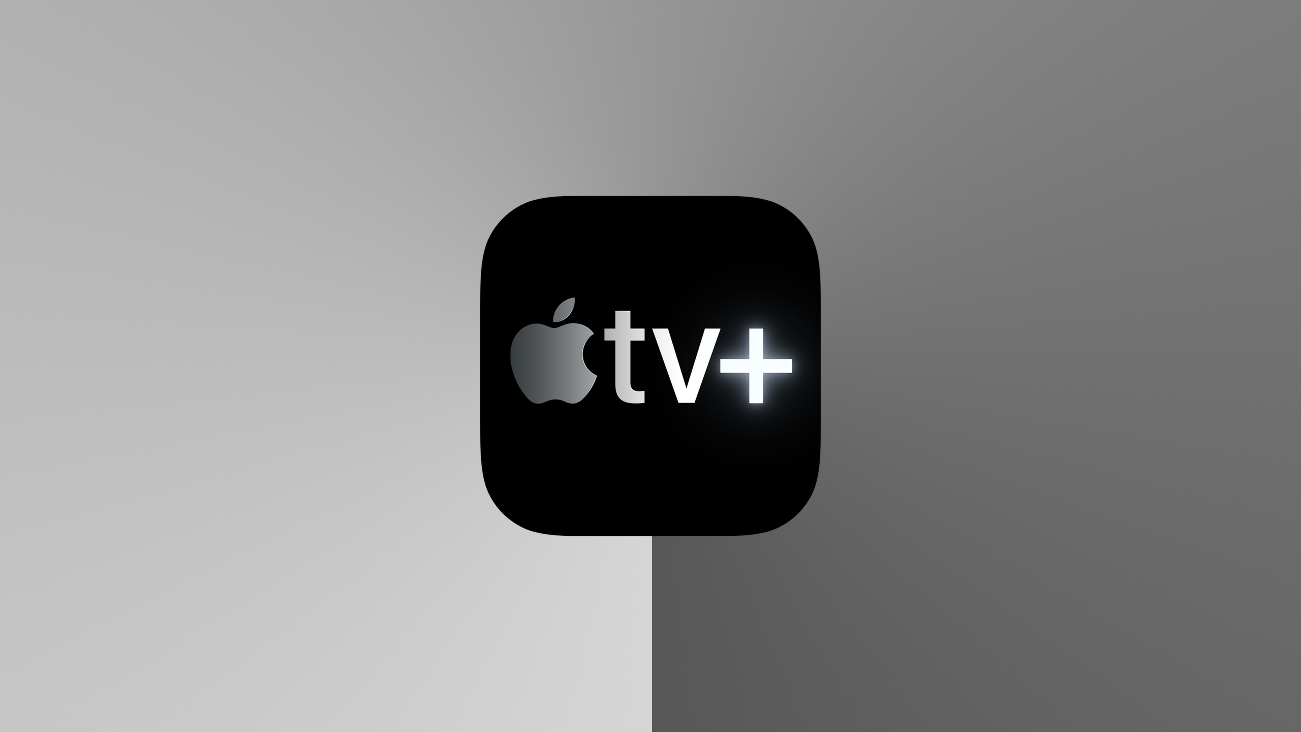 apple tv+ logo grijs 16x9