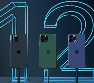 iPhone 12 conceptafbeelding