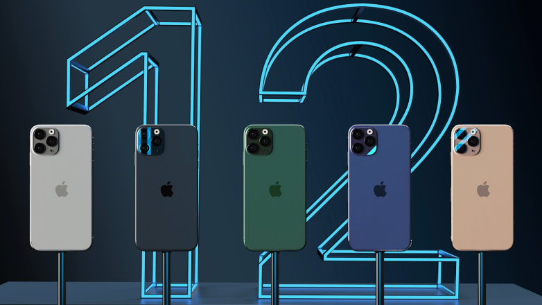 iPhone 12 conceptafbeelding