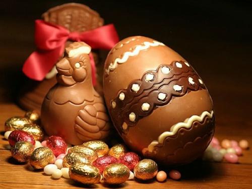 Chocolade paas eieren