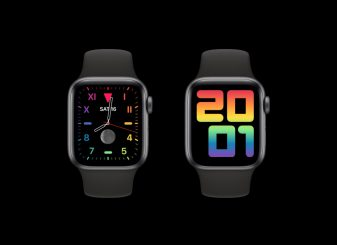 Apple Pride Apple Watch wijzerplaat