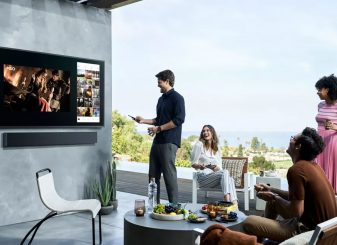 Samsung tv tuin Apple TV