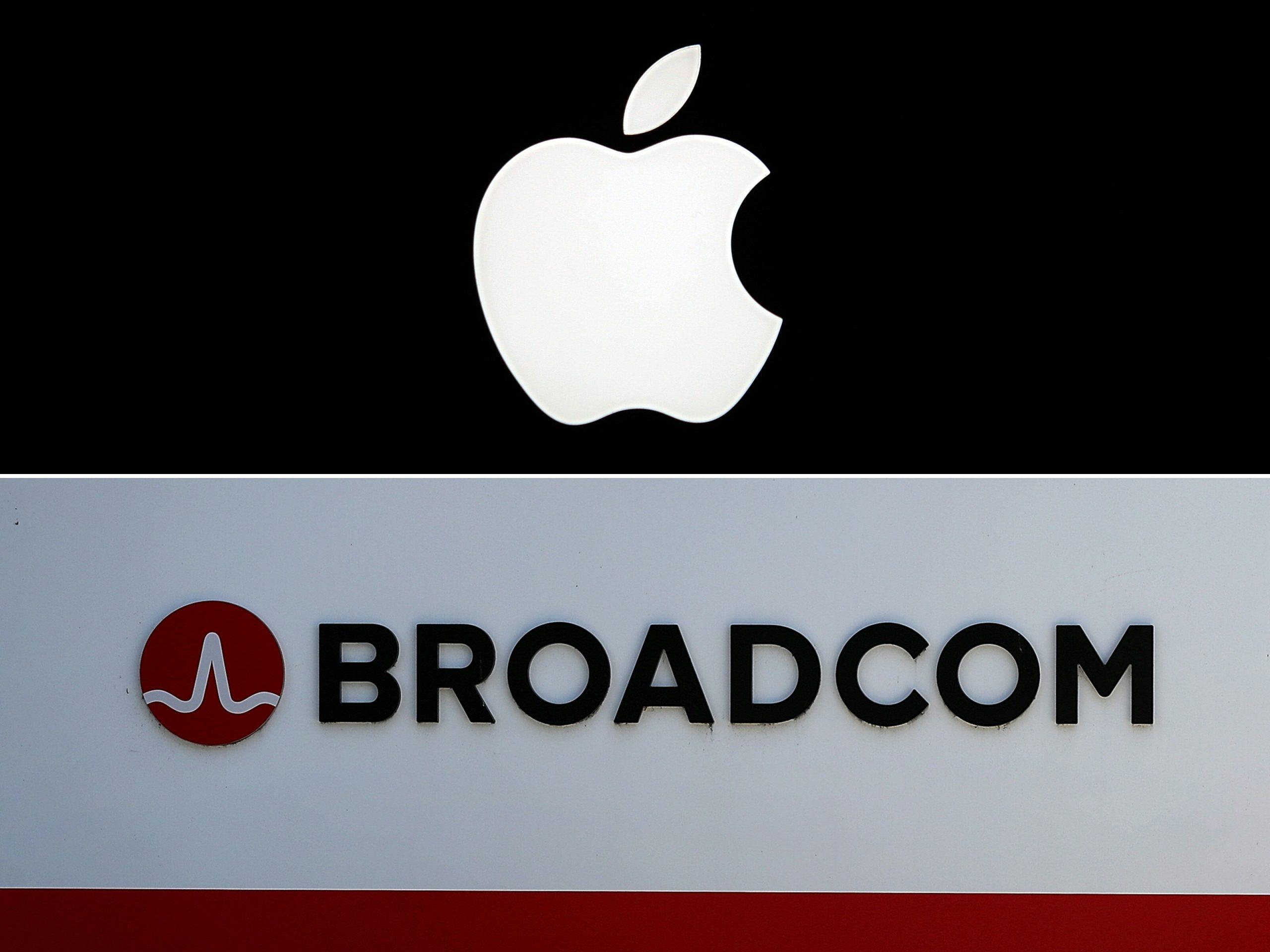 Apple en Broadcom