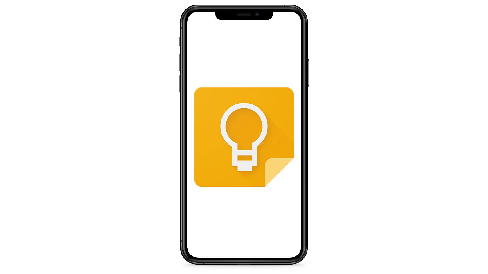 Google Keep iOS apps